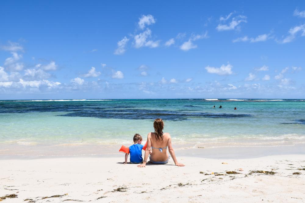 Guadeloupe Sehenswürdigkeiten Highlights Reisetipps Travel Sisi am Plage des Raisins Clairs
