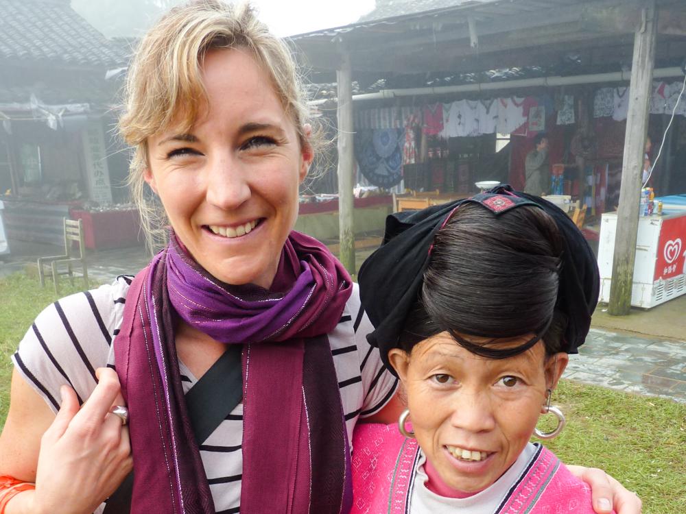 Reisen verändert Travel Sisi mit Einheimischen in Ping'an China