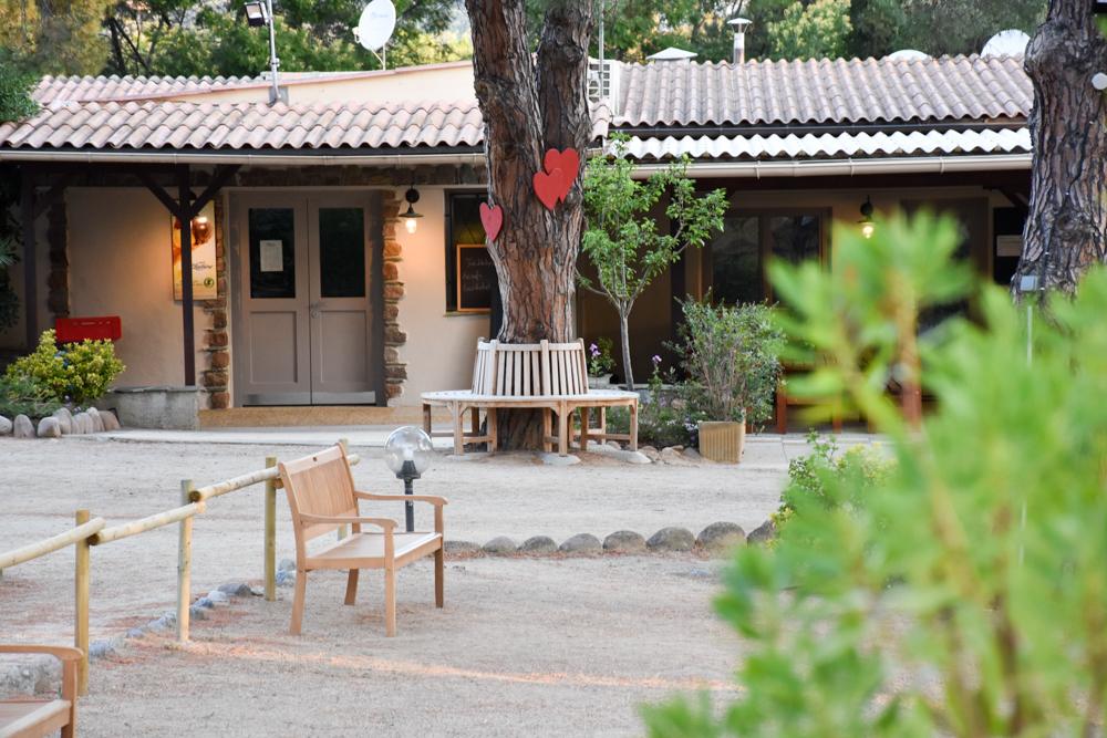 Hoteltipp Korsika Feriendorf zum störrischen Esel Calvi Herzbaum