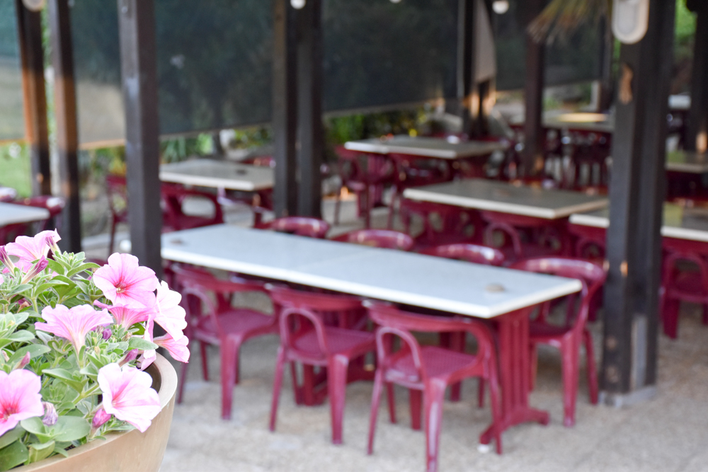 Hoteltipp Korsika Feriendorf zum störrischen Esel Calvi Restaurant