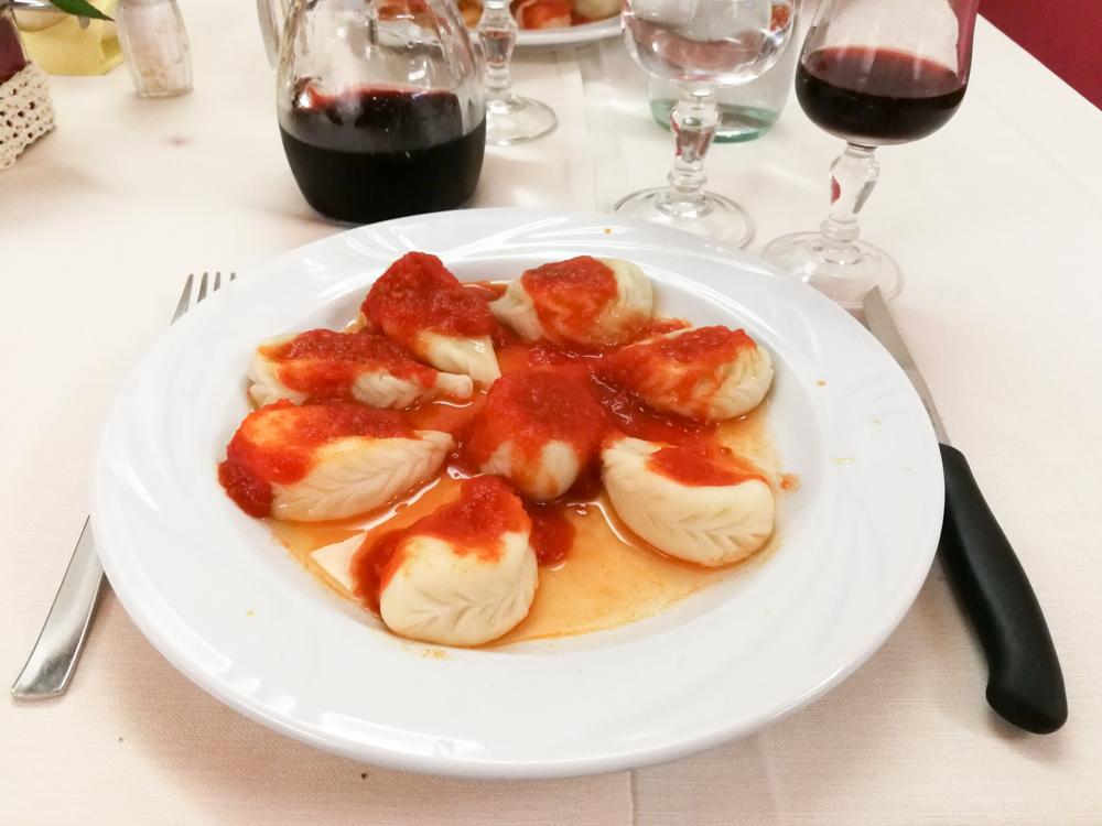 Sardinien Ostküste Reisetipps Highlights Restaurants sardische Spezialität Malloreddus