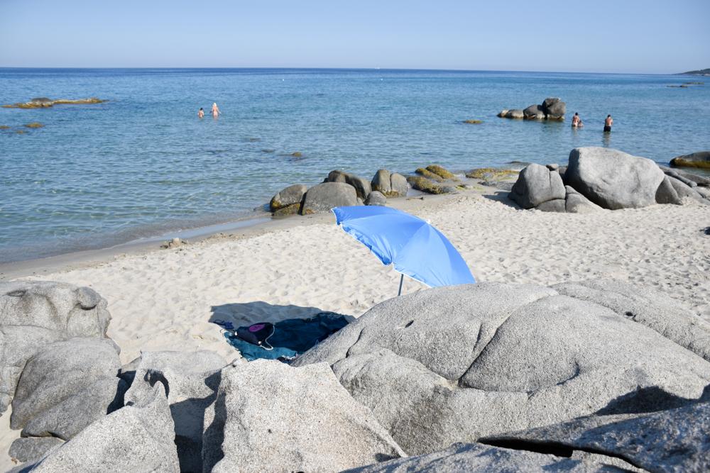 Sardinien Ostküste Reisetipps Highlights Restaurants Beachtag an der Spiaggia die Musculedda