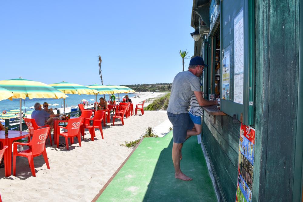 Sardinien Ostküste Reisetipps Highlights Restaurants Chiosco Bar Ginepri