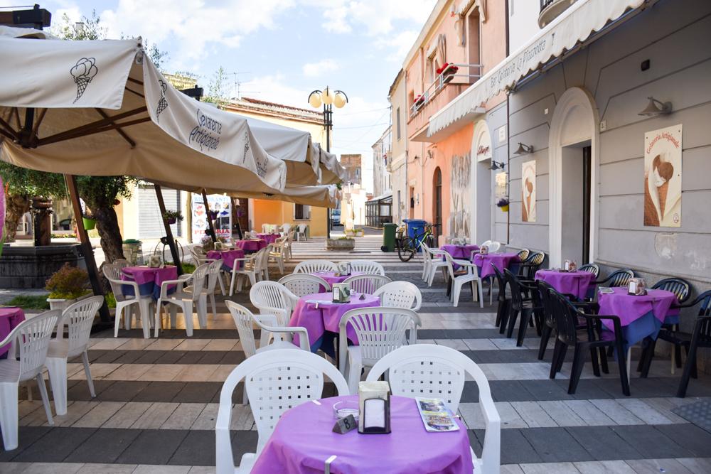 Sardinien Ostküste Reisetipps Highlights Restaurants Gelateria La Piazzetta Tortoli