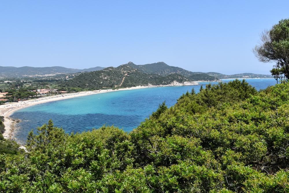 Unterkunft Cagliari Sardinien Fra Cielo e Mare Küstenstrasse Villasimius Cagliari