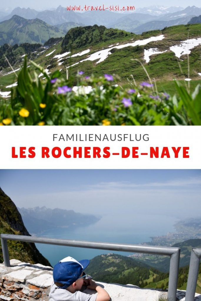 Familienausflug les Rochers-de-Naye Montreux Schweiz
