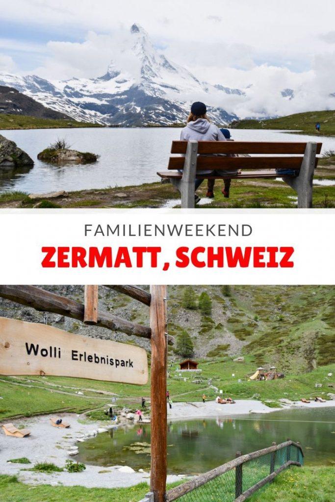 Familienweekend Zermatt Wallis Schweiz