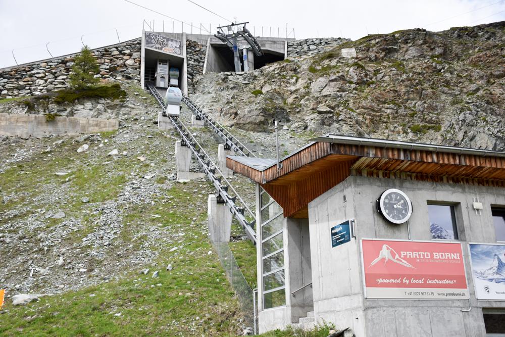 Familienweekend Zermatt Wallis Schweiz Leisee Shuttle Sunnegga
