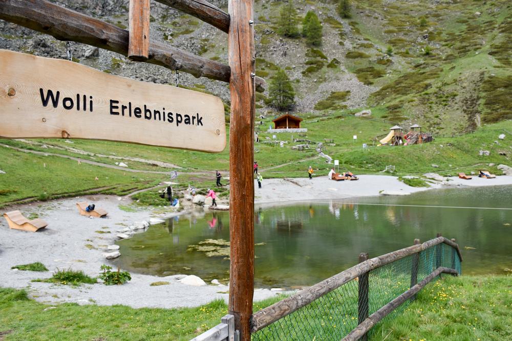 Familienweekend Zermatt Wallis Schweiz Wolli Erlebnispark am Leisee