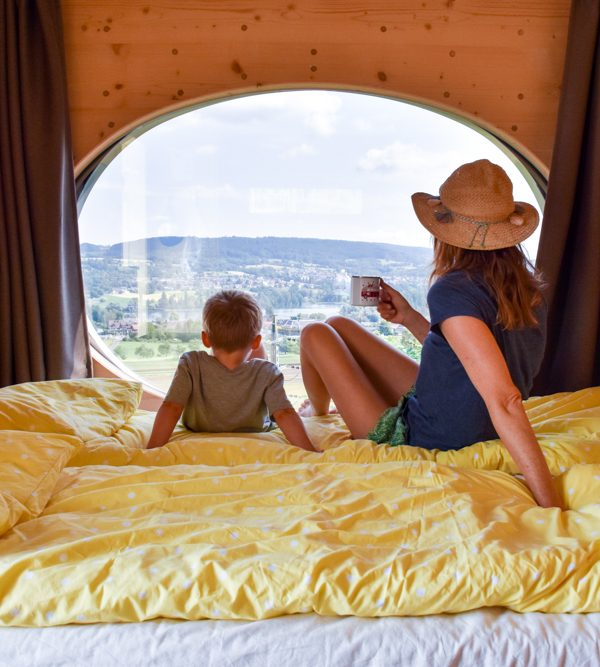 Glamping Eschenz Thurgau Schweiz: Übernachtung in der ZINIPI Lodge