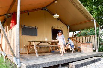 Glamping Lugano Schweiz Safarizelt Deluxe TCS Campingplatz