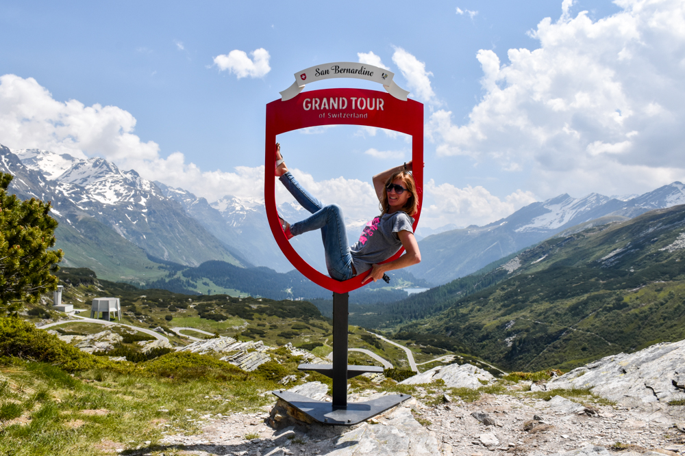 Glamping Lugano Schweiz Safarizelt Deluxe TCS Campingplatz Grand Tour of Switzerland San Bernardino Pass