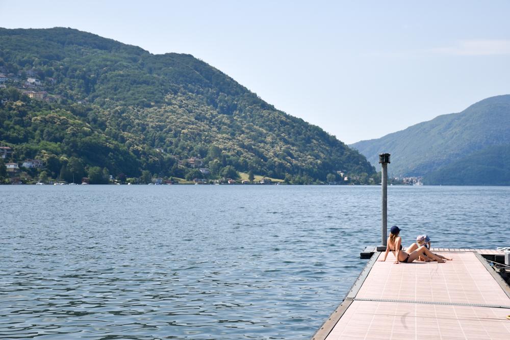 Glamping Lugano Schweiz Safarizelt Deluxe TCS Campingplatz direkt am Luganersee
