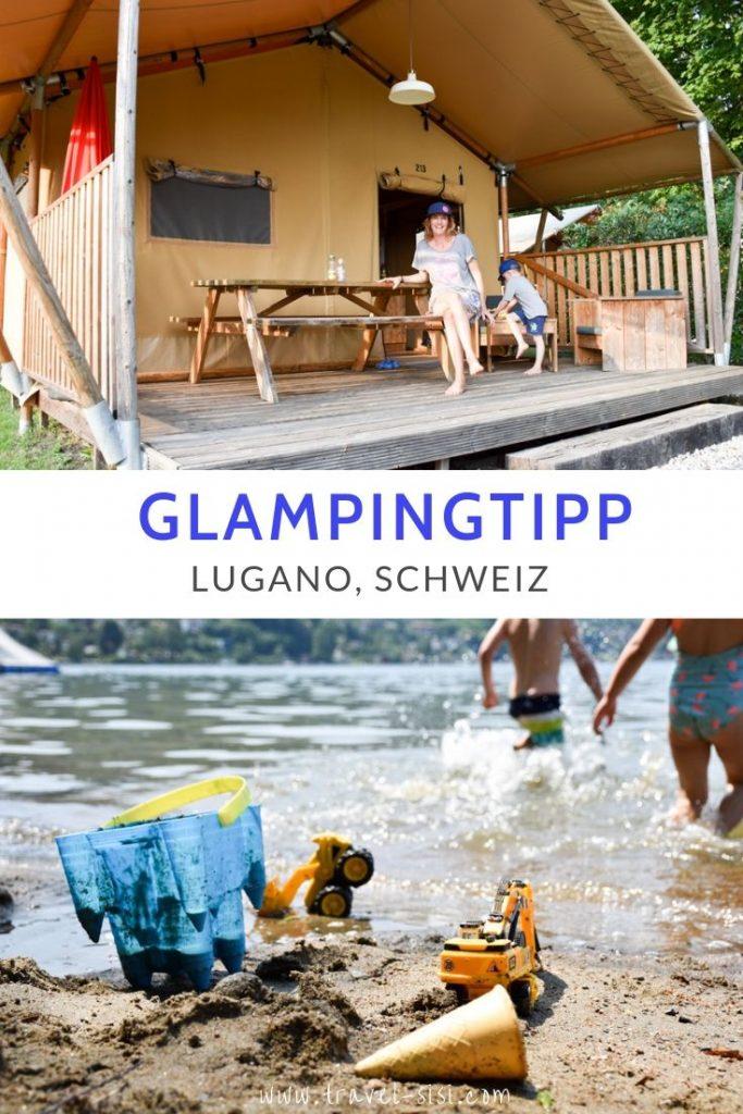 Glamping Lugano Tessin Schweiz