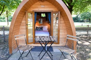 Glamping Sion Wallis Schweiz TCS Campingplatz Pod