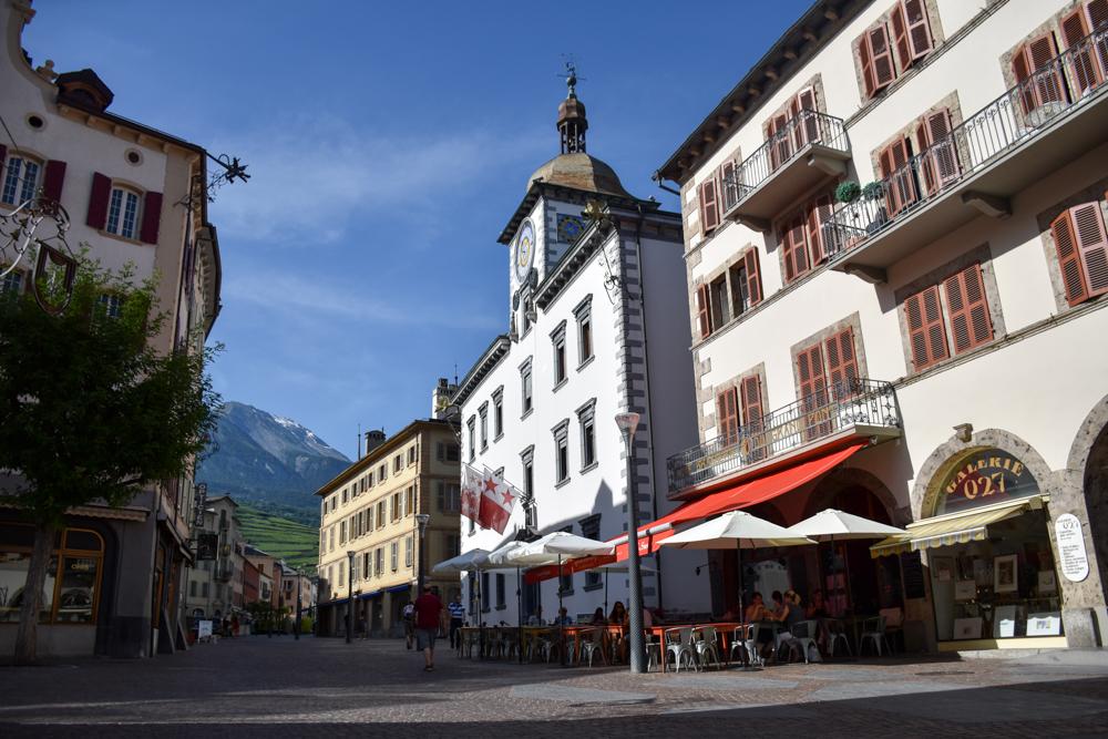 Glamping Sion Wallis Schweiz TCS Campingplatz Sion