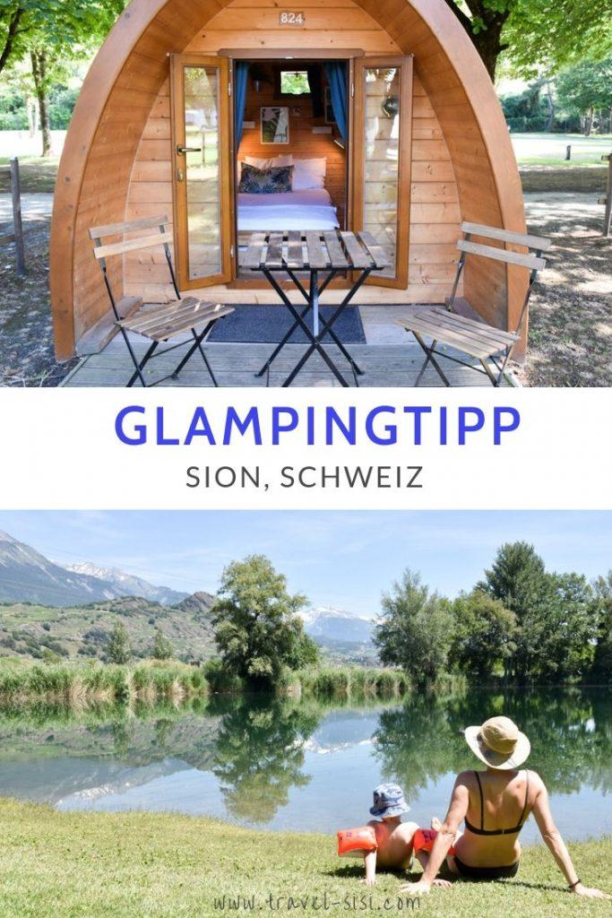 Glamping Sion Wallis Schweiz