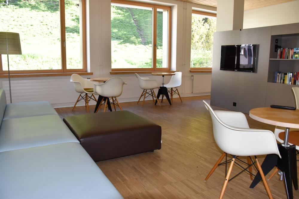 Unterkunft St. Moritz Engadin Schweizer Jugendherberge Aufenthaltsraum