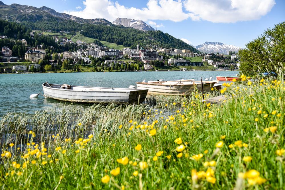 Unterkunft St. Moritz Engadin Schweizer Jugendherberge St. Moritzer See