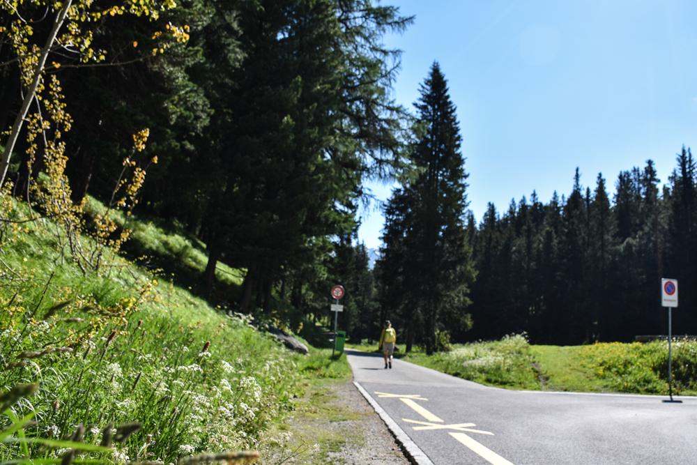 Unterkunft St. Moritz Engadin Schweizer Jugendherberge Wanderweg startet vor der Haustüre