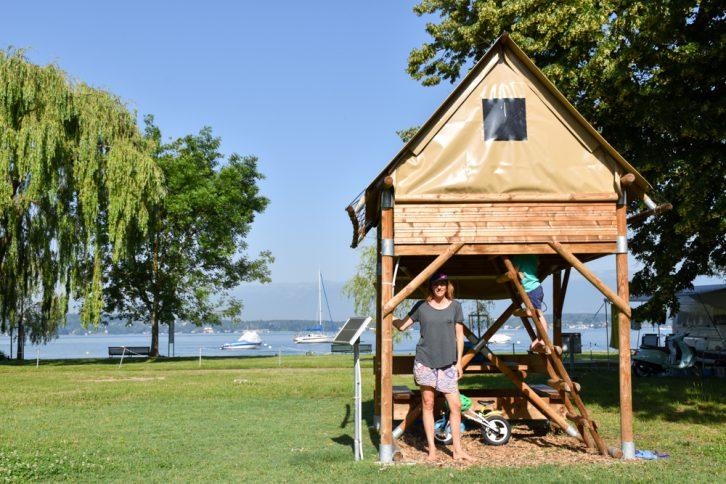 Biwak Glamping TCS Campingplatz Genf