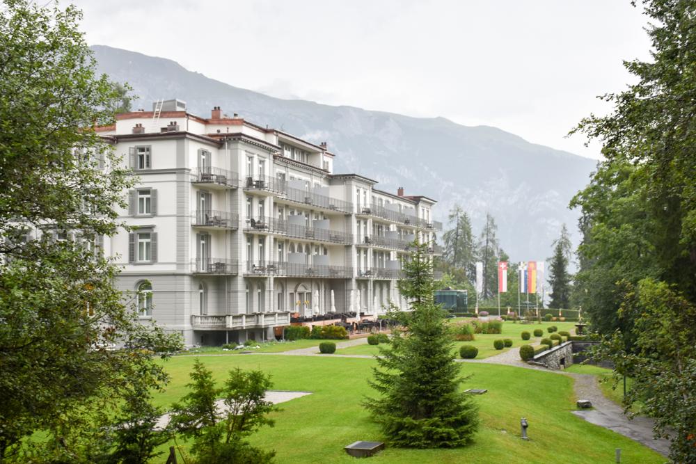 Kitchen Party im Waldhaus Flims Graubünden Schweiz Grand Hotel