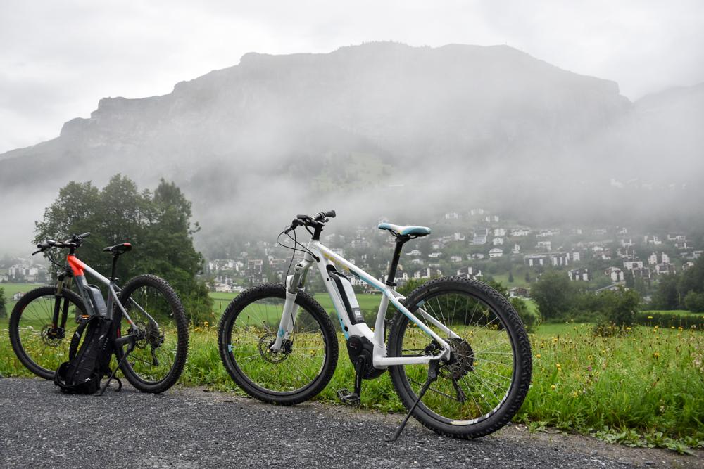 Kitchen Party im Waldhaus Flims Graubünden Schweiz geführte E-Biketour