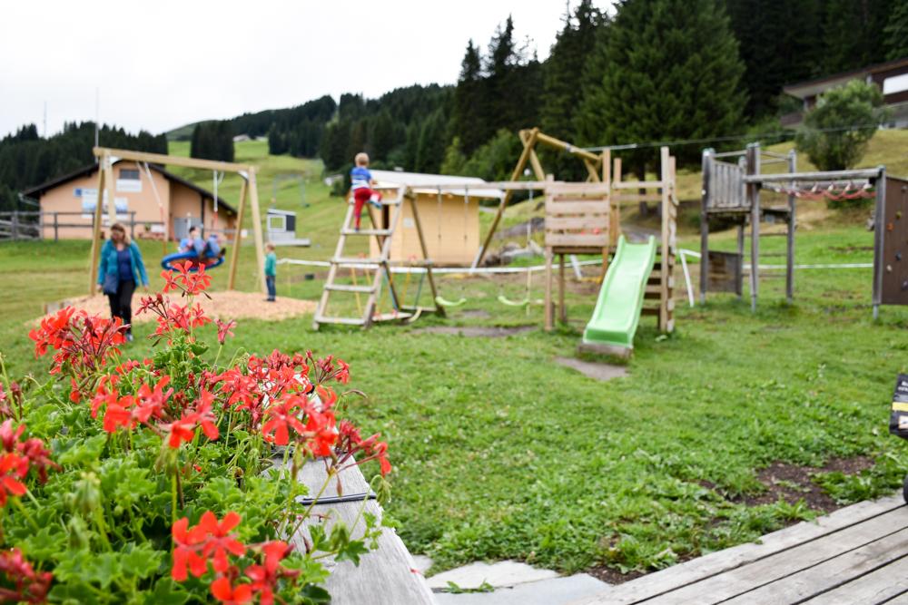 Schlammspielplatz Brambrüesch Chur Graubünden Schweiz Spielplatz Viva Berg Baiz