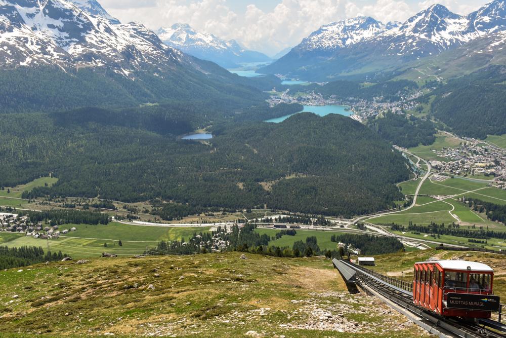 Travel Sisi Grand Tour of Switzerland mit Kind Muottas Muragl