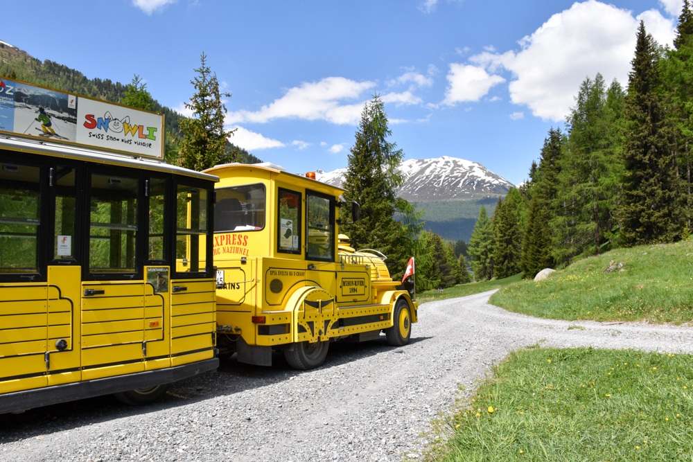 Engadin Graubünden Schweiz mit Kind Express Parc Naziunal Val Trupchun