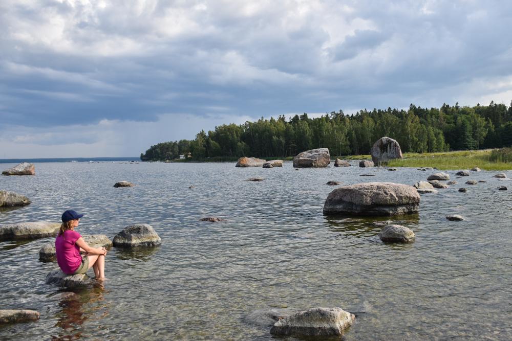 Estland Road Trip Reisetipps Route Highlights Findlinge auf der Käsmu Halbinsel Lahemaa Nationalpark