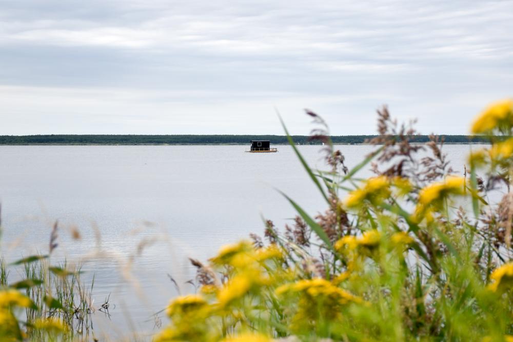 Estland Road Trip Reisetipps Route Highlights Sauna auf der Insel Muhu