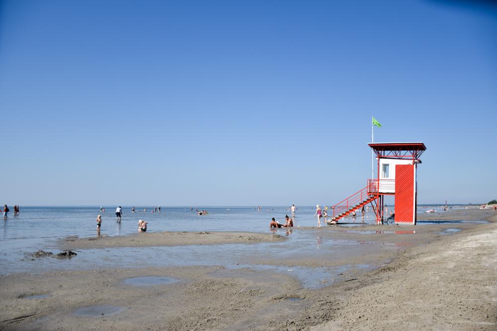 Estland Road Trip Reisetipps Route Highlights Strand von Pärnu