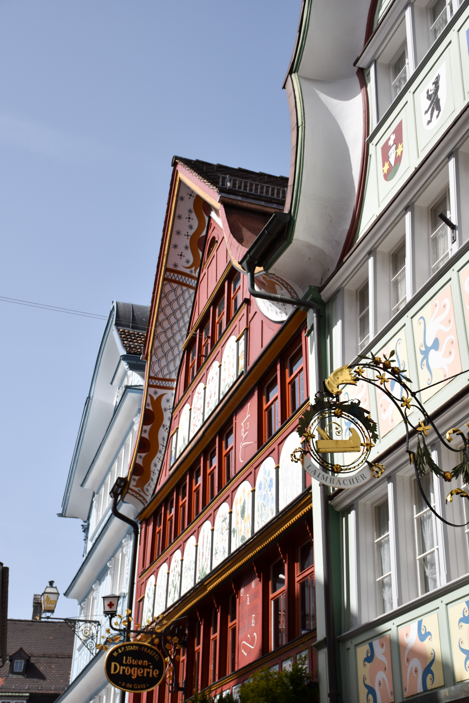 Familienausflug Hoher Kasten Appenzell Hauptgasse Appenzell