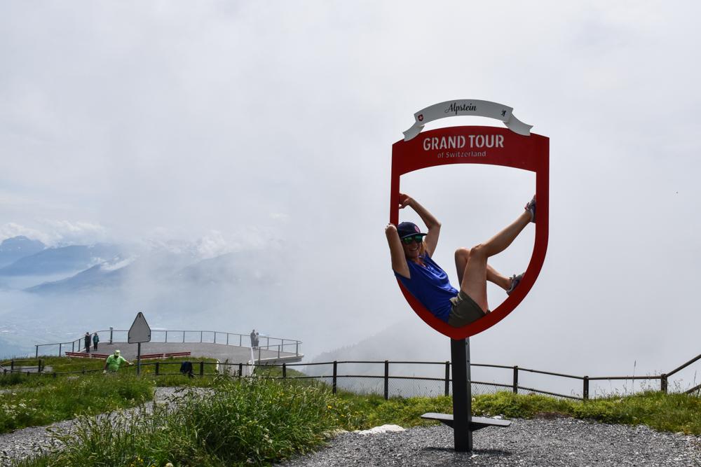 Familienausflug Hoher Kasten Appenzell Schweiz Grand Tour of Switzerland Alpstein