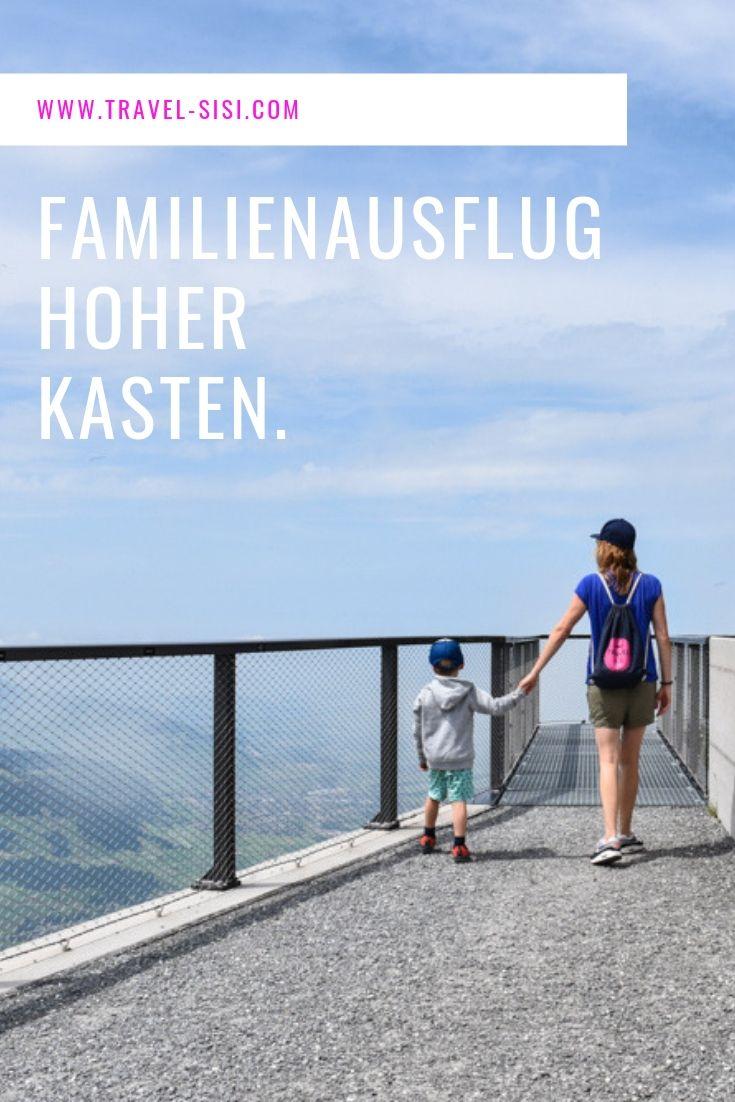 Familienausflug Hoher Kasten Appenzell Schweiz