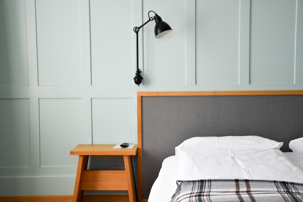 Unterkunft Rapperswil Schweiz Hotel Jakob Hüsler Bett