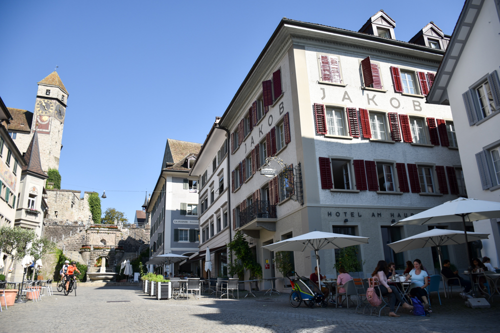 Unterkunft Rapperswil Schweiz Hotel Jakob perfekte Lage am Hauptplatz