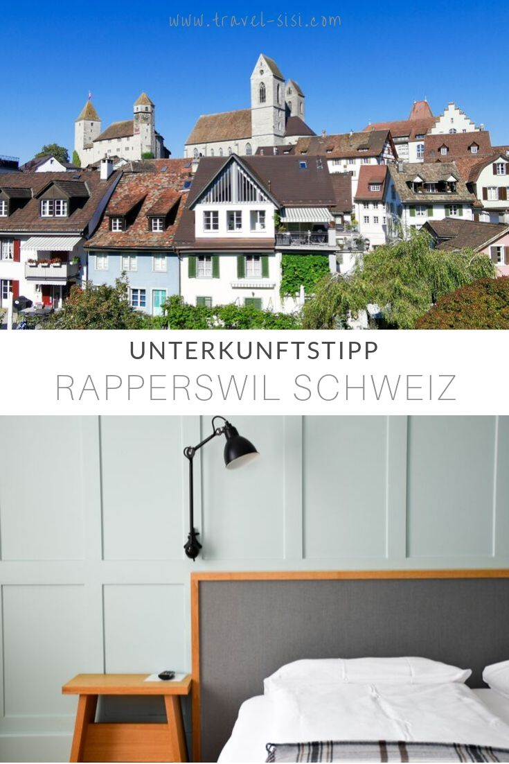 Unterkunftstipp Hotel Jakob Rapperswil Schweiz
