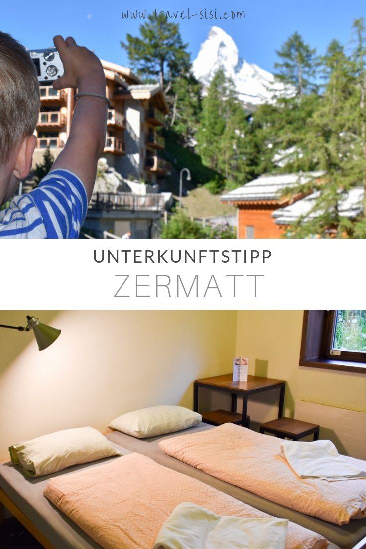 Unterkunftstipp Jugendherberge Zermatt Schweiz