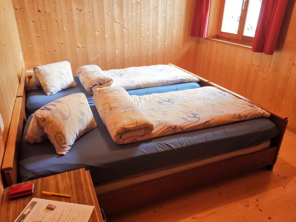 Weekend in der Valposchiavo Graubünden Schweiz Doppelzimmer Crot Alpe San Romerio