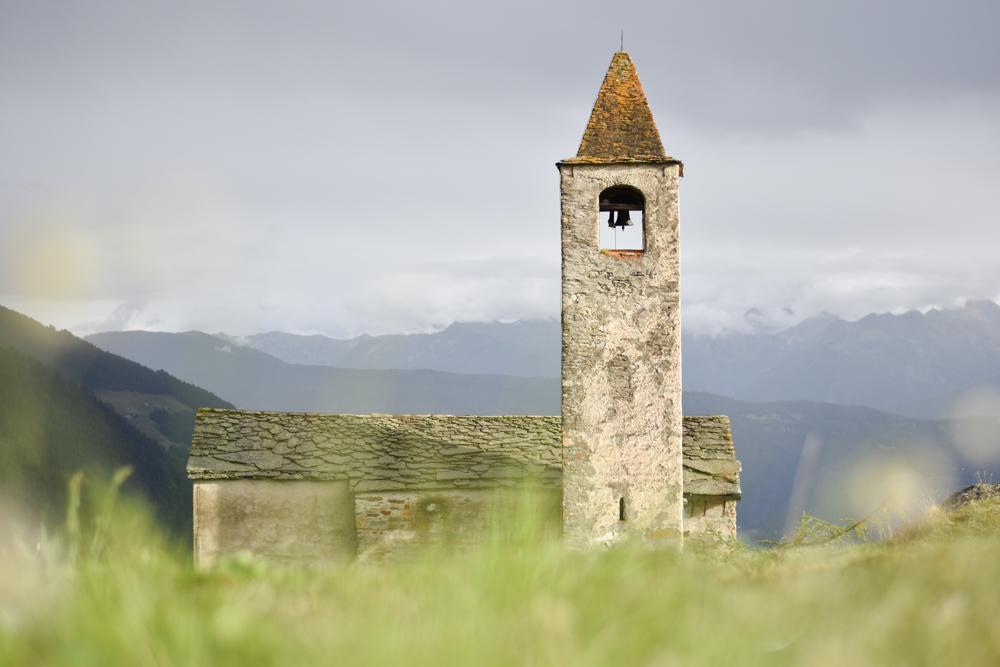Weekend in der Valposchiavo Graubünden Schweiz Kirche Alpe San Romerio