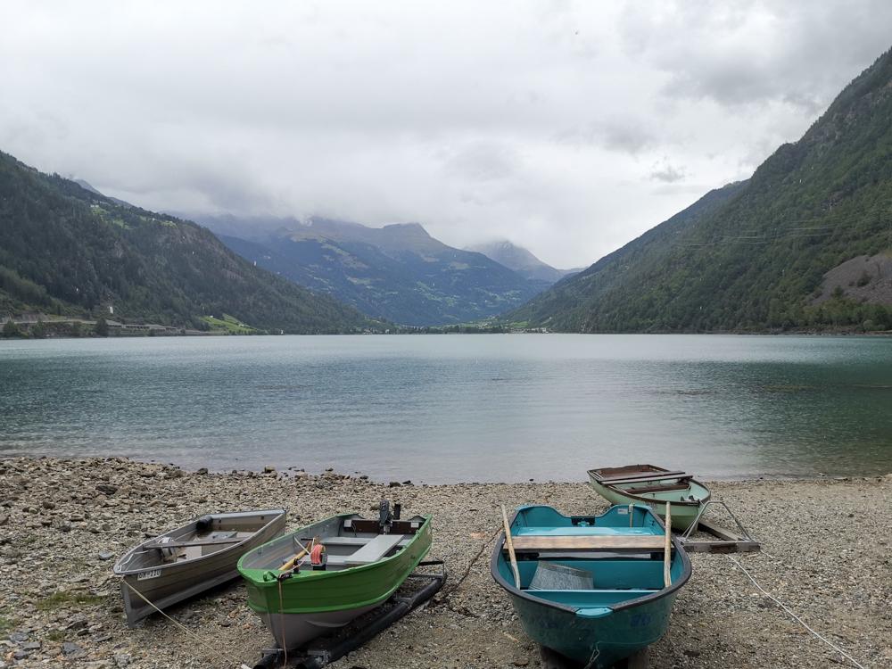 Weekend in der Valposchiavo Graubünden Schweiz Lago di Poschiavo