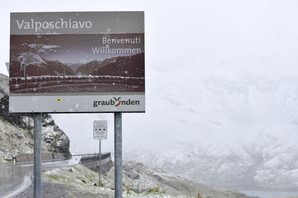 Weekend in der Valposchiavo Graubünden Schweiz San Bernardino Pass