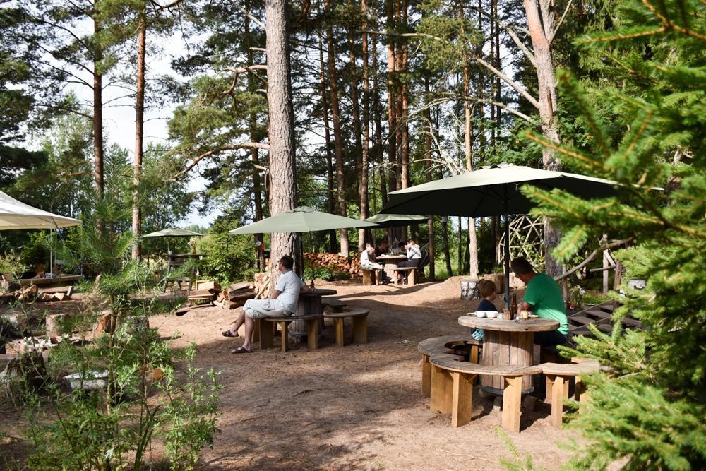 Glamping Lahemaa Nationalpark Estland Projekt Kodu Restaurant