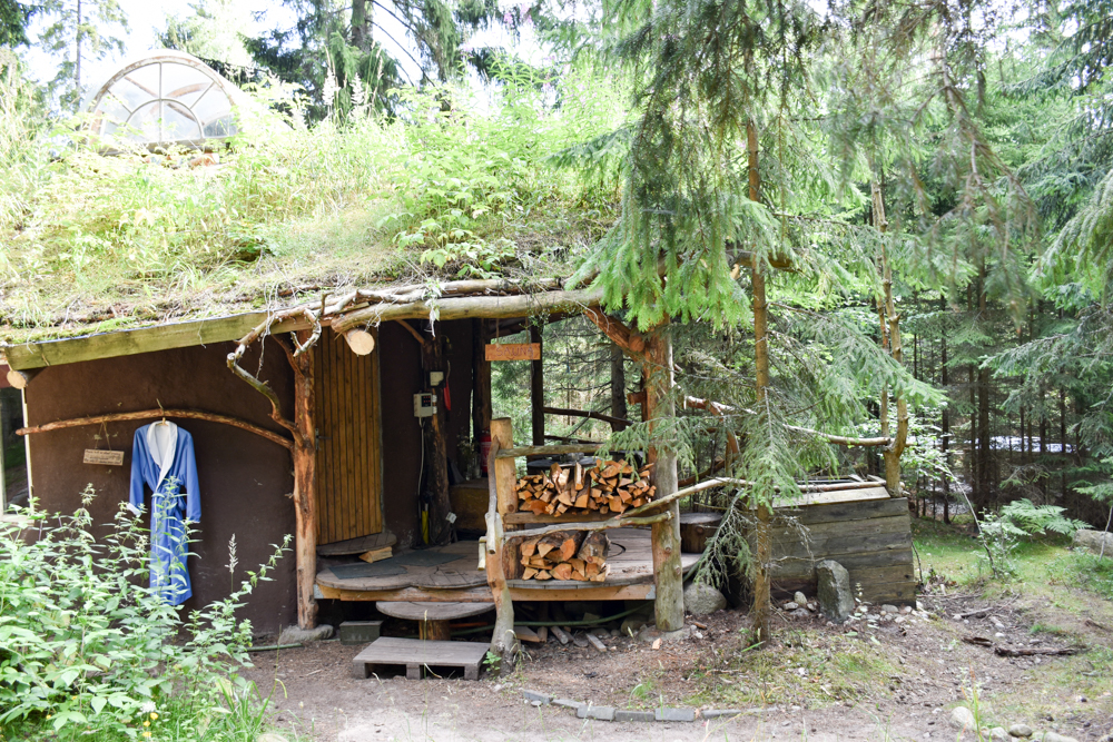 Glamping Lahemaa Nationalpark Estland Projekt Kodu rustikaler Spa