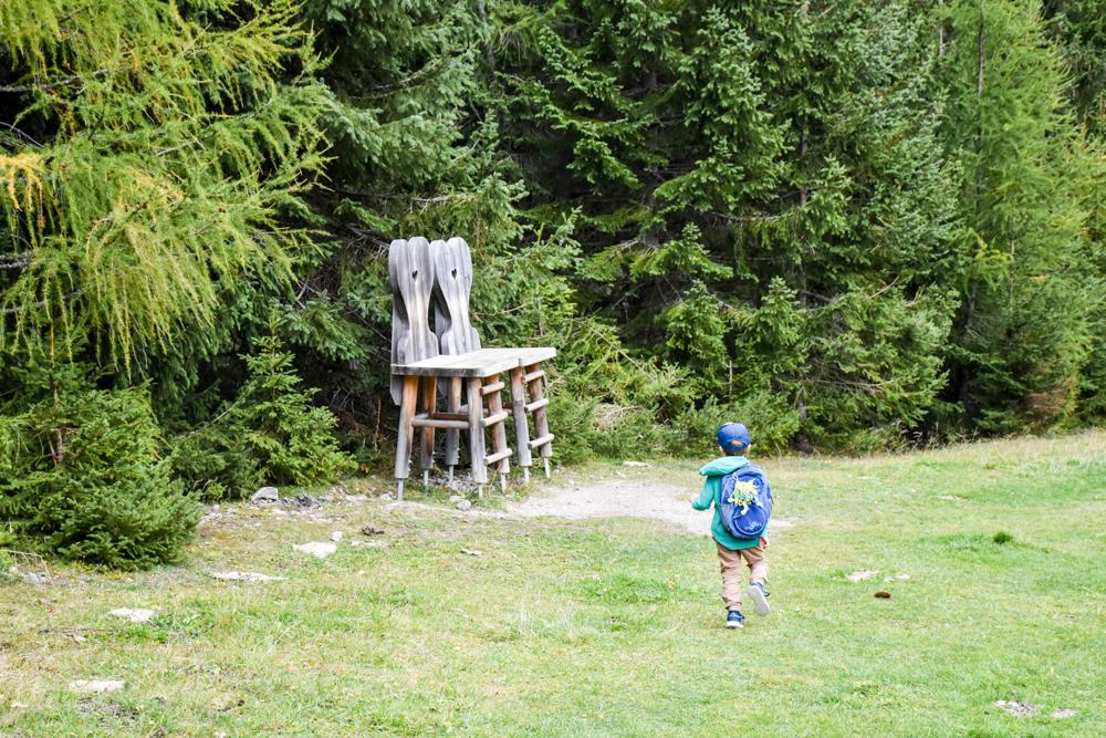 Herbstferien Achensee Tirol Österreich mit Kindern Alpentiere Rundweg Karwendel Bergbahn