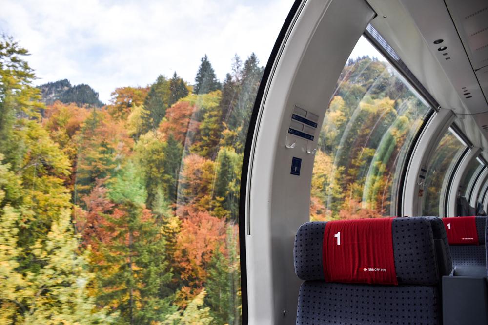 Herbstferien Achensee Tirol Österreich mit Kindern Anreise mit SBB