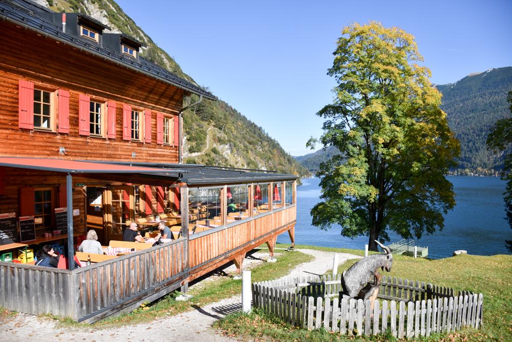 Herbstferien Achensee Tirol Österreich mit Kindern Gaisalm
