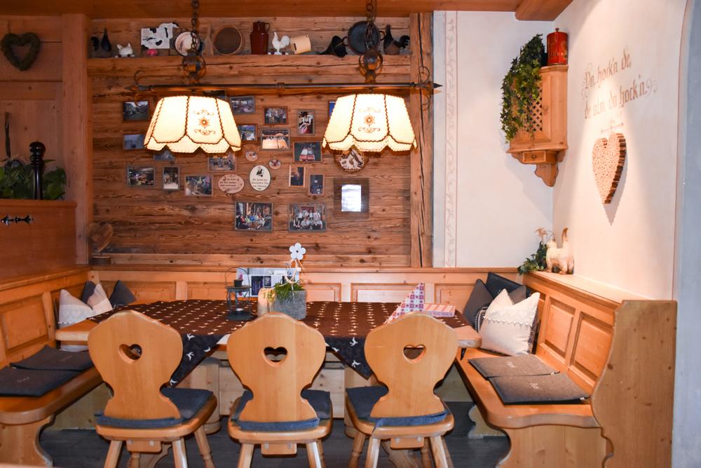 Herbstferien Achensee Tirol Österreich mit Kindern Restaurant Gramai Alm